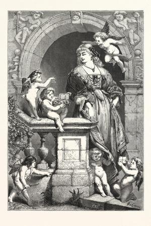 Whisperings of St. Valentine, 1876, UK