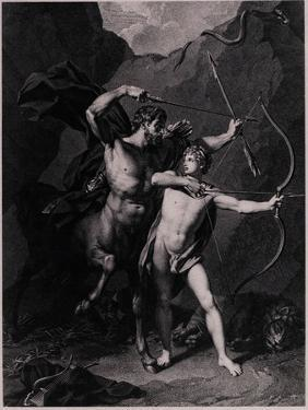 The Education of Achilles, 1794 by Charles Clément Bervic