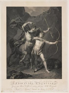 The Education of Achilles by the Centaur Chiron by Charles-Clément Bervic