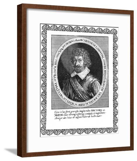 Charles Comte Longueval--Framed Giclee Print
