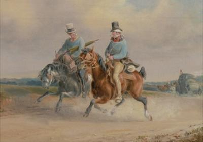 Travelling Companions, or a Scene on the Road in France