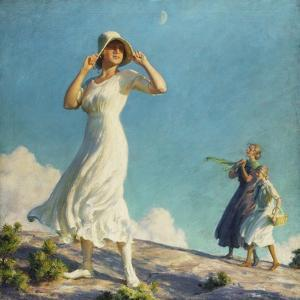 High Country, 1917 by Charles Courtney Curran