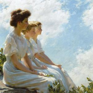 On the Heights by Charles Courtney Curran