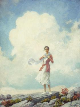 On the Summit, 1932 by Charles Courtney Curran