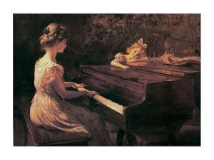 Songs Of Childhood by Charles Courtney Curran