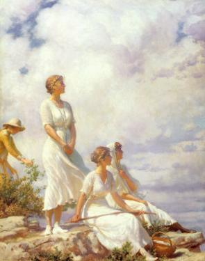 Summer Clouds, 1917 by Charles Courtney Curran