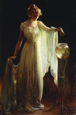The Goldfish, 1911 by Charles Courtney Curran