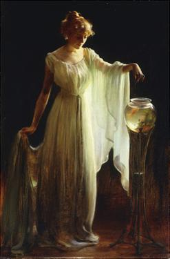 The Goldfish by Charles Courtney Curran