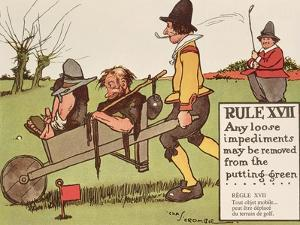 Rule XVII: Any Loose Impediments May Be Removed from the Putting-Green, from 'Rules of Golf',… by Charles Crombie
