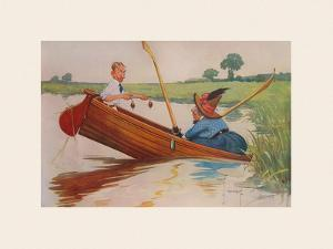 Steer Henry, You're the Coxswain! by Charles Crombie