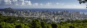 Downtown Honolulu, Hawaii, USA by Charles Crust