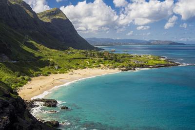 USA, Hawaii, East Oahu. Makapuu Beach