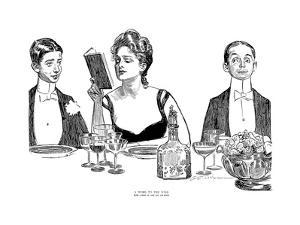A Word to the Wise by Charles Dana Gibson