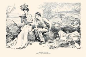 Advice To Students by Charles Dana Gibson