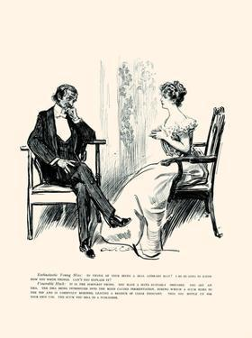 Being a Writer by Charles Dana Gibson
