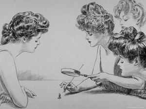 Eighty Drawings Including the Weaker Sex: the Story of a Susceptible Bachelor by Charles Dana Gibson