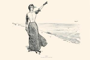 Fore! by Charles Dana Gibson