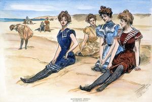 Gibson Girls, 1900 by Charles Dana Gibson