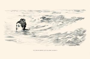 Not a Sea Serpent by Charles Dana Gibson