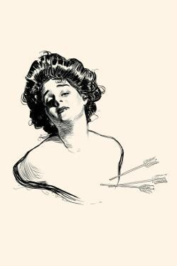 Pierced In the Heart by Charles Dana Gibson