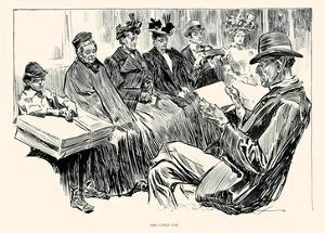The Cable Car by Charles Dana Gibson