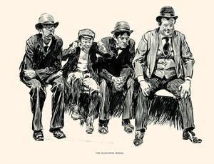 The Eleventh Inning by Charles Dana Gibson