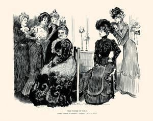 The Power of Gold by Charles Dana Gibson
