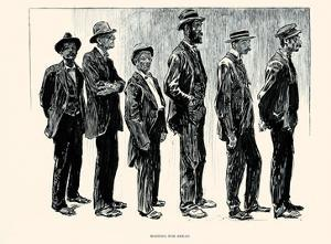 Waiting for Bread by Charles Dana Gibson