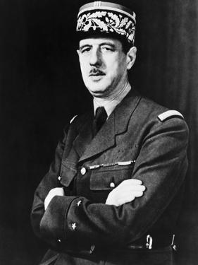 Charles De Gaulle in Exile in Britain During World War 2