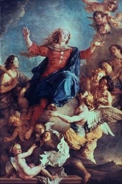 The Assumption of the Virgin, 17th-Early 18th Century by Charles de La Fosse