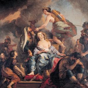 The Sacrifice of Iphigenia, 1680 by Charles de La Fosse