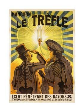 Manchon Le Trefle Poster by Charles Delaye