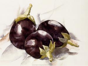 Eggplants, 1927 by Charles Demuth