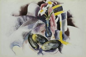 Flowers and Cucumbers by Charles Demuth