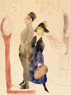 On Leave by Charles Demuth
