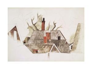 Red Chimneys by Charles Demuth