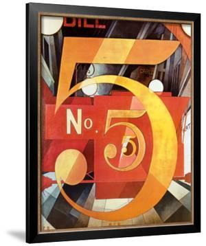 The Figure 5 in Gold, 1928 by Charles Demuth