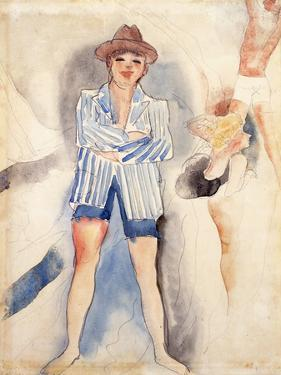 The Striped Blazer by Charles Demuth