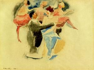Vaudeville, 1916 by Charles Demuth