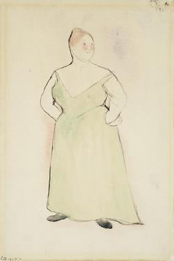 Woman in Evening Dress, 1912 by Charles Demuth