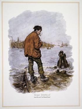 Illustration for Our Mutual Friend by Charles Dickens