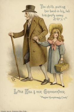Little Nell and Her Grandfather, from the Old Curiosity Shop by Charles Dickens