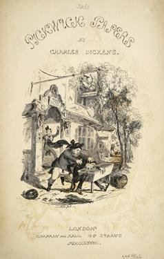 The Pickwick Papers, Novel by Charles Dickens