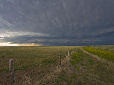 An Approaching Supercell in the Nebraska Panhandle, USA