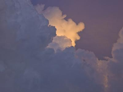 Skyscape with Storm Clouds Near Sunset in Norman, Oklahoma, USA by Charles Doswell