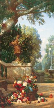 Panneau décoratif à le corveil by Charles Dugasseau