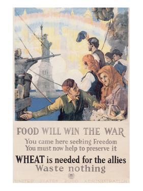 Food Will Win The War by Charles E. Chambers