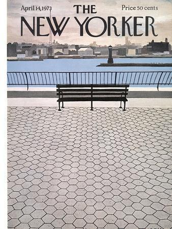 The New Yorker Cover - April 14, 1973