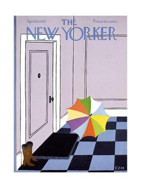 The New Yorker Cover - April 8, 1972 by Charles E. Martin