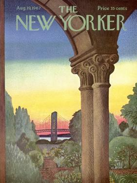 The New Yorker Cover - August 19, 1967 by Charles E. Martin